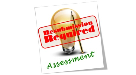 RESUBMISSION OF THE PROJECT PROPOSAL IN CASE OF NON-APPROVAL